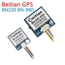 Beitian BN220 BN-880 3 0 V-5 0 V TTL poziom GNSS moduł GPS GLONASS podwójny moduł GPS antena wbudowany FLASH BN-220 BN880 tanie tanio TEAMSKYSTARS Materiał kompozytowy Pojazdów i zabawki zdalnie sterowane