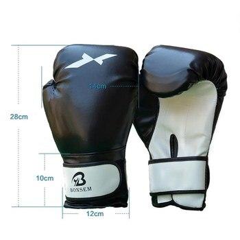 2020 New Adult Boxing Gloves Professional Sandbag Liner Gloves Kickboxing Gloves Pugilism Men Women Training Fighting Tool * 4