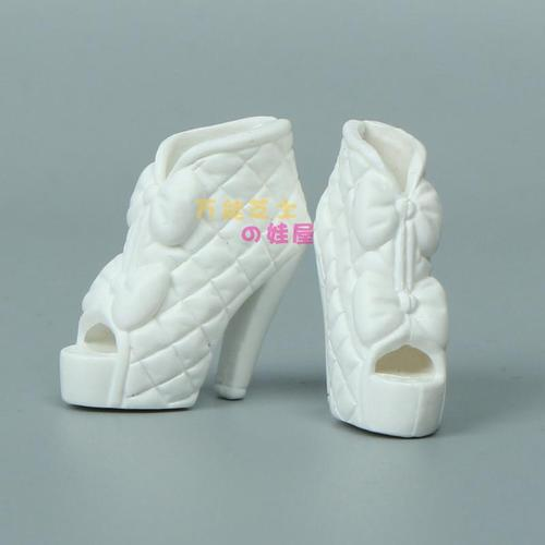1/6 Doll Accessories Fashion Sneaker Flat Shoes Genuine Sandals Shoeshigh-heeled shoes for Barbie Doll Shoes 4