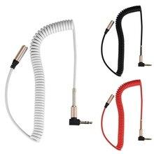 3,5 мм аудио кабель штекер к штекер AUX кабель наушники наушники динамик телефон автомобиль динамик Aux шнур провод