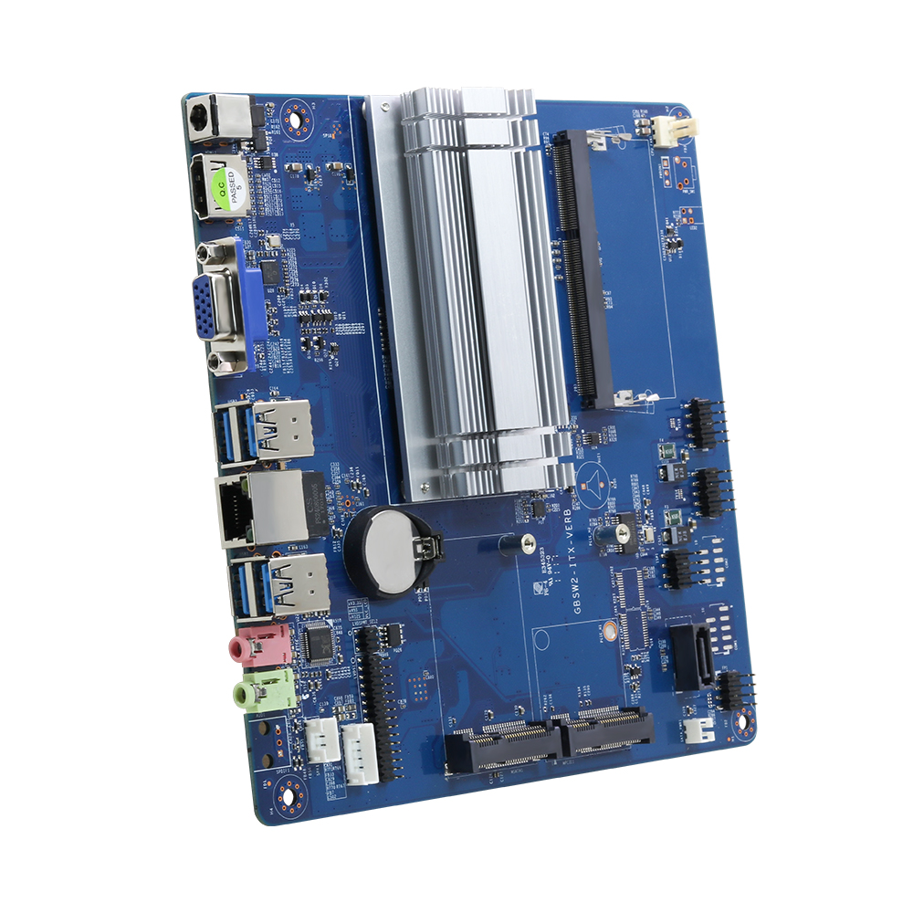 Intel Celeron N3150 Embedded Motherboard DDR3L SATA MSATA 6*USB HDMI VGA Mini PCI-E WiFi Bluetooth Gigabit LAN MIC SPK DC12V 5A