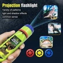 Флеша светильник проекционный фонарик набор для творчества обучающая