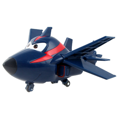 Большой! 15 см ABS Супер Крылья деформация самолет робот фигурки Супер крыло Трансформация игрушки для детей подарок Brinquedos - Цвет: No Box CHASE