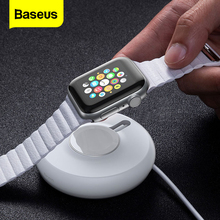 Baseus Qi Wireless Charger For Apple Watch 4 3 2 1 Series Magnetic USB Charger Portable Fast Wireless Charging Pad For iWatch magnetic wireless charger watch fast charger for apple watch 4 3 2 1 portable usb wireless charge cable for iwatch 1 2 3 4