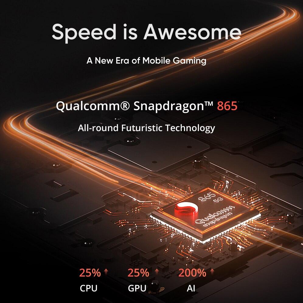 Original Realme X50 Pro 5G Snapdragon 865 Smartphone 8GB 128GB Handy 6.44 ''90Hz 64MP android 10,0 65W SuperVOOC