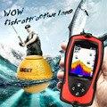 Русское меню! LUCKY Sonar рыболокатор беспроводной преобразователь лед/океан/лодка рыболокатор сигнализация Sonar сенсор для рыбалки FF1108-1CWLA