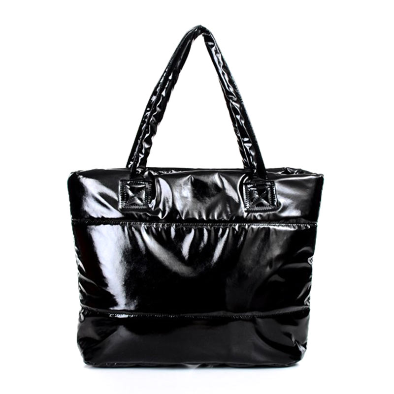 HOBBAGGO Fashion Handbag Single Shoulder Tote Women Space Pad Cotton Feather Down Bag 8 New
