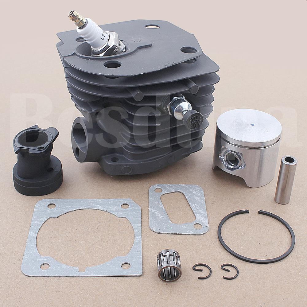 Kit XP Husqvarna 503866301 503869971 Intake For Gasket 350 340 351 Cylinder 44mm W Needle 346 353 Piston Chainsaw Boot Bearing