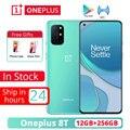 Oneplus 8 T 8 T 5G 12GB 256GB 5G SmartPhone 120Hz Flüssigkeit AMOLED Display Snapdragon 865 65W Warp Ladung Einer plus 8 T Handy