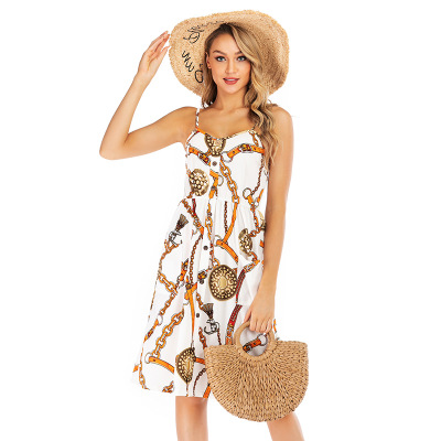 V-neck Split Women Floral Dress 2020 Elegant Bohemian Wrap Long Flower Plus Size Summer Dresses Female Holiday Sexy Beach Vest