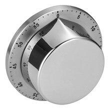 Temporizador de cocina para Chef, alarma de carga, respaldo magnético mecánico, recordatorio de cuenta atrás de 60 minutos