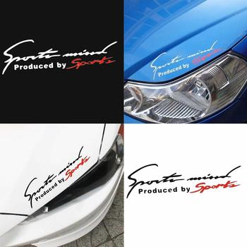 Car Sticker Reflective Sports Mind Letters Car-Styling Vehicle Headlight Decal Sticker Decor car accessories наклейки на авто image