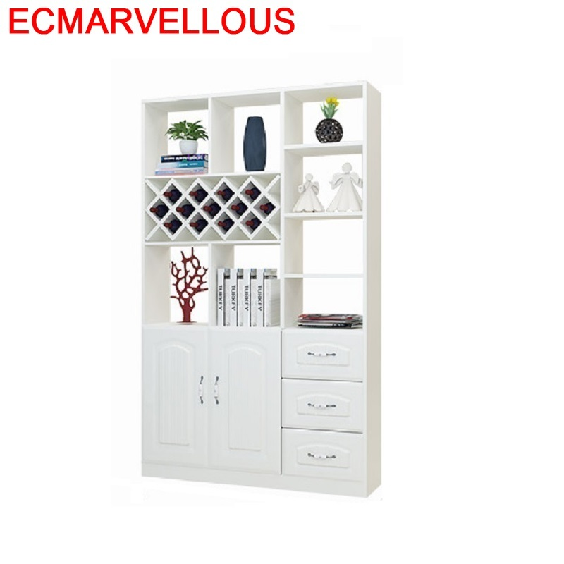 Desk Armoire Kitchen Living Room Kast Cristaleira Storage Sala Gabinete Table Shelf Commercial Furniture Mueble Bar Wine Cabinet