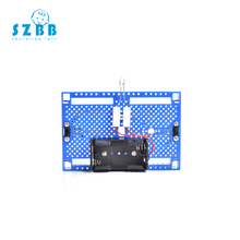SZ STEAM  DIY Corridor Scientific Experiments toys Double Control Lights Model Kits Making Assemble Toys for Kids SZ3388 wooden hydraulic excavator model handmade scientific experiments steam