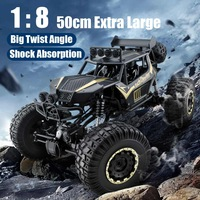 1:8 50cm RC Car 2.4G Radio Control 4WD fuoristrada veicolo elettrico Monster Buggy telecomando auto regalo giocattoli per bambini ragazzi