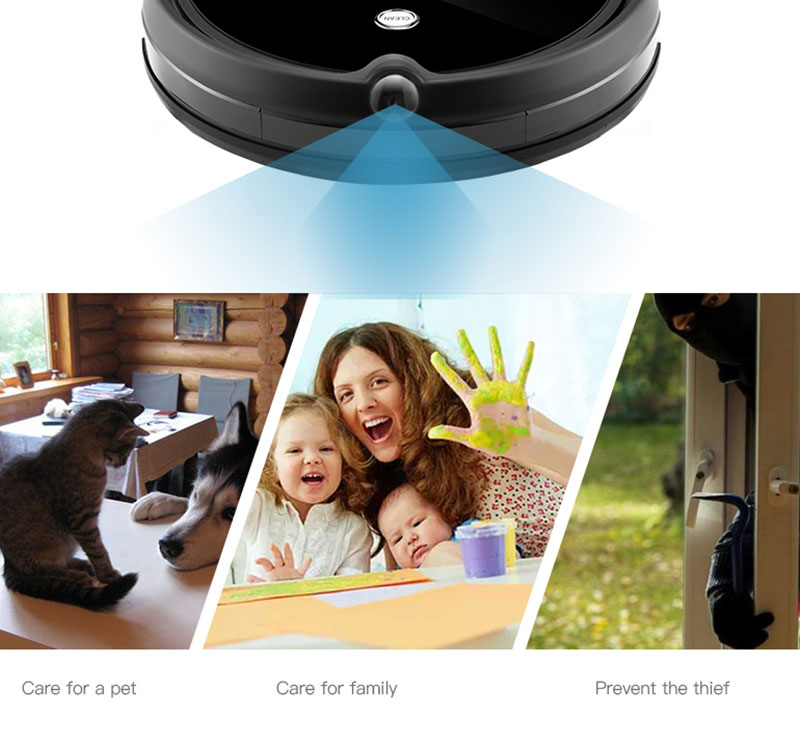 H92829e99d1664b53a3eb2ee2da89df9cd IMASS A3S Robot Vacuum Cleaner Powerful Suction For Camera Navigation Various Cleaning Mode With APP Control Auto Charge Mopping