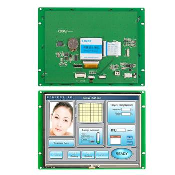 8.0 Inch HMI Touch Screen LCD Panel with Controller + Program for Industrial Embedded Control Solution embedded touch screen 10 1 inch tft module with controller board for equipment control panel
