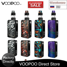 Clearence Original 177W VOOPOO Drag 2 zestaw TC z 5ml 2ml UFORCE T2 Tank amp GENE FIT Chip elektroniczny papieros VS Drag Max Gen S tanie tanio Bez Baterii CN (pochodzenie) Kształt skrzynki 18650 VOOPOO Drag 2 Kit 510 Thread 88 3 x 51 x 26 5mm 2 x 18650 batteries (NOT included)