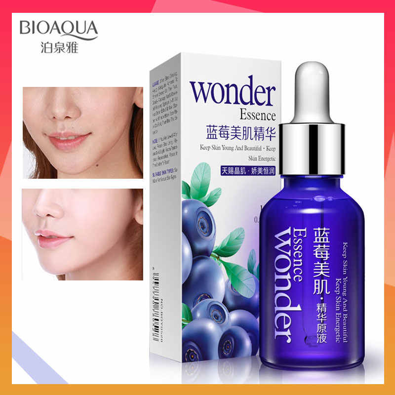 BIOAQUA Blueberry Essence Serum Anti Aging Anti Wrinkle Wonder Essence Serum Of Youth Organic Cosmetic Charm Liquid