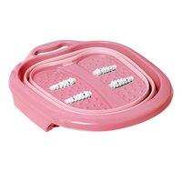 Travel Foot Bath Large Anti Slip Heightened Massage Roller Foldable Basin Portable Thick Bucket Hangable Reduce Pressure Home