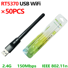 RT5370 Wifi-Antenna Ralink 150mbps Wireless Usb USB2.0 with Rotatable 50PCS