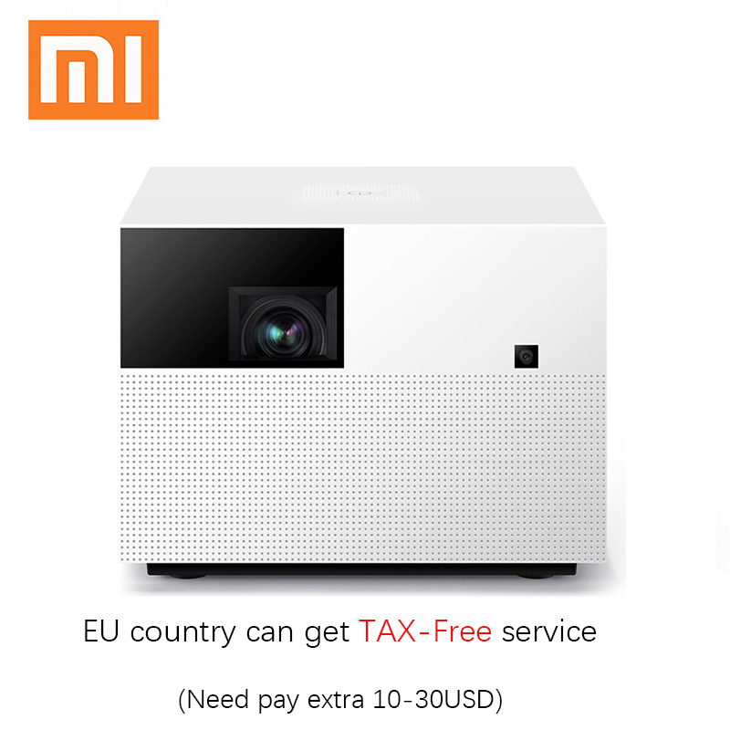 Xiaomi fengmi Vogue 1080P Projector DLP 1500ANSI Lumens 2GB+32GB Android Wifi Support 4K Projector Home Theater Beamer image