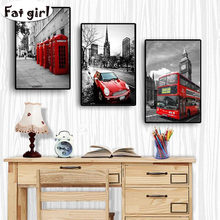diamond painting poster nordic prints city london paris landscape wall art decorative pictures cross stitch mosaic embroidery(China)