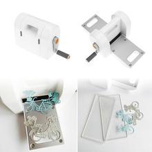 Штампы для резки тиснения Скрапбукинг резак кусок высечки бумаги Резак высечки машина для дома DIY тиснение штампы инструмент