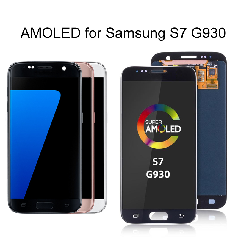 AMOLED Original Touch Screen for Samsung <font><b>Galaxy</b></font> <font><b>S7</b></font> LCD <font><b>Display</b></font> Touch Screen Replacement for SAMSUNG <font><b>Galaxy</b></font> <font><b>S7</b></font> G930 <font><b>G930F</b></font> SM-G930 image