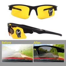 Gorąca sprzedaż eliminuje odblaski z szkła samochodowego w nocy okulary Vision ochronne okulary przeciwsłoneczne Gogglesanti-śnieg niewidomych okulary tanie tanio CN (pochodzenie) 99 Percentage Unisex Fashion Driving Outdoor