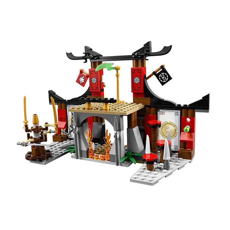 10319 Ninja Dojo Showdown Driving Range Building Blocks 70756 Ninja Figures Model Toys Bricks Kids Birthday Gift 2