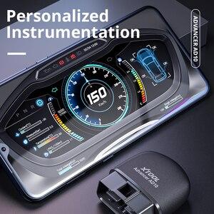 Image 4 - XTOOL Advancer AD10รถ OBD2 Enginee เครื่องสแกนเนอร์บลูทูธสแกนเนอร์เช่นรถ GPS สำหรับ Android/IOS