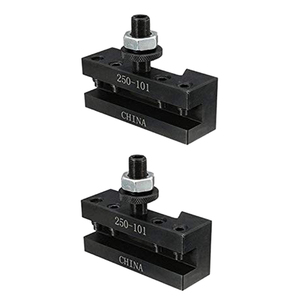 Image 3 - 2PCS Quick Change Turning and Facing Holder 250 101 for Lathe Tool Post Holder