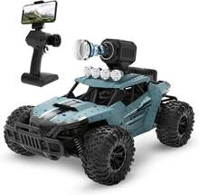 RC Car with WiFi FPV 720P Camera HD 25KM/H Electric High Speed Racing 1:18 Radio Remote Control Climb Off-Road Buggy Trucks Toys(China)