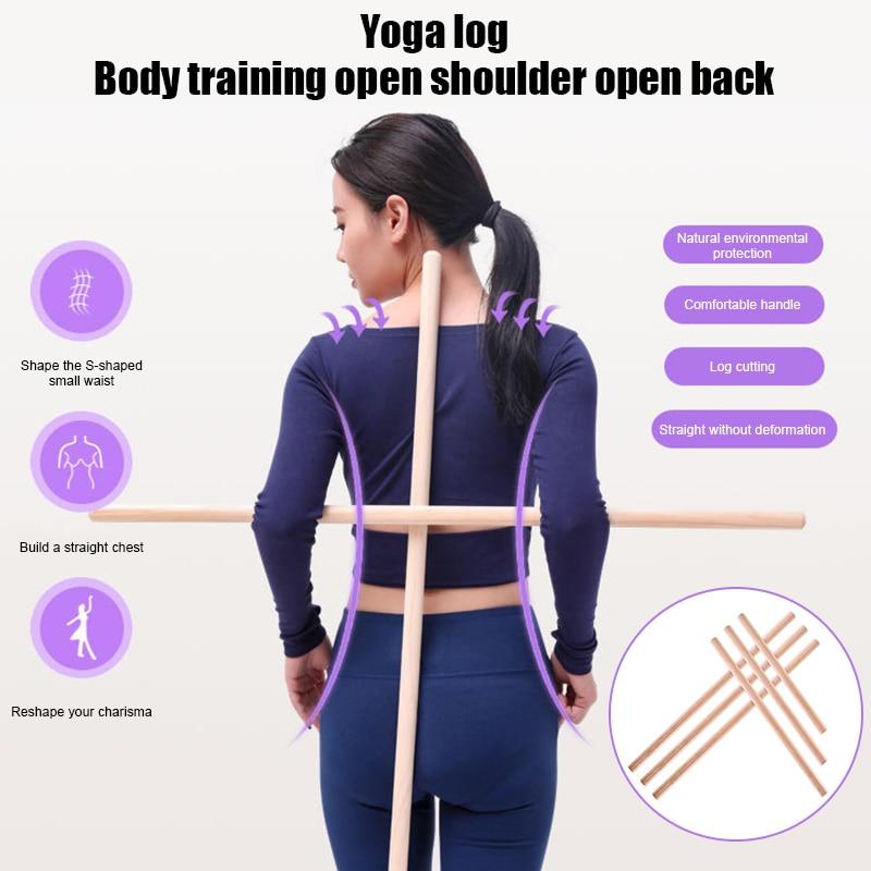 Posture Corrector Back Shoulder Support Correct Brace Rod Yoga Sticks Tool Durable ALS88