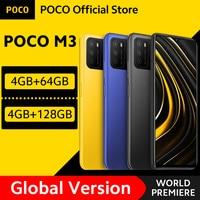 [World Premiere In Stock] Global Version POCO M3 Smartphone Snapdragon 662 Octa Core 4GB 64GB/128GB 6.53 1