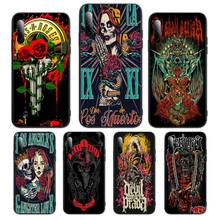 Skull Band Horror Rock Band etui Phone Case For Huawei P Y Nova mate Y6 9 7 5 prime mate20 lite nova 3E 3I Cover Fundas Coque