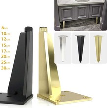 Modern Metal Diamond Triangle Furniture Feet DIY Replacement Gold for Cabinet Cupboard Sofa Couch Chair Ottoman