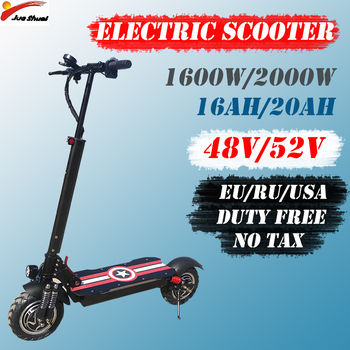 E Scooter V/48 V/52 V Patinete Electrico Adulto Scooter Eléctrico de 1600 W/2000 W Trotinette Electrique Adulte Monopattino Elettrico