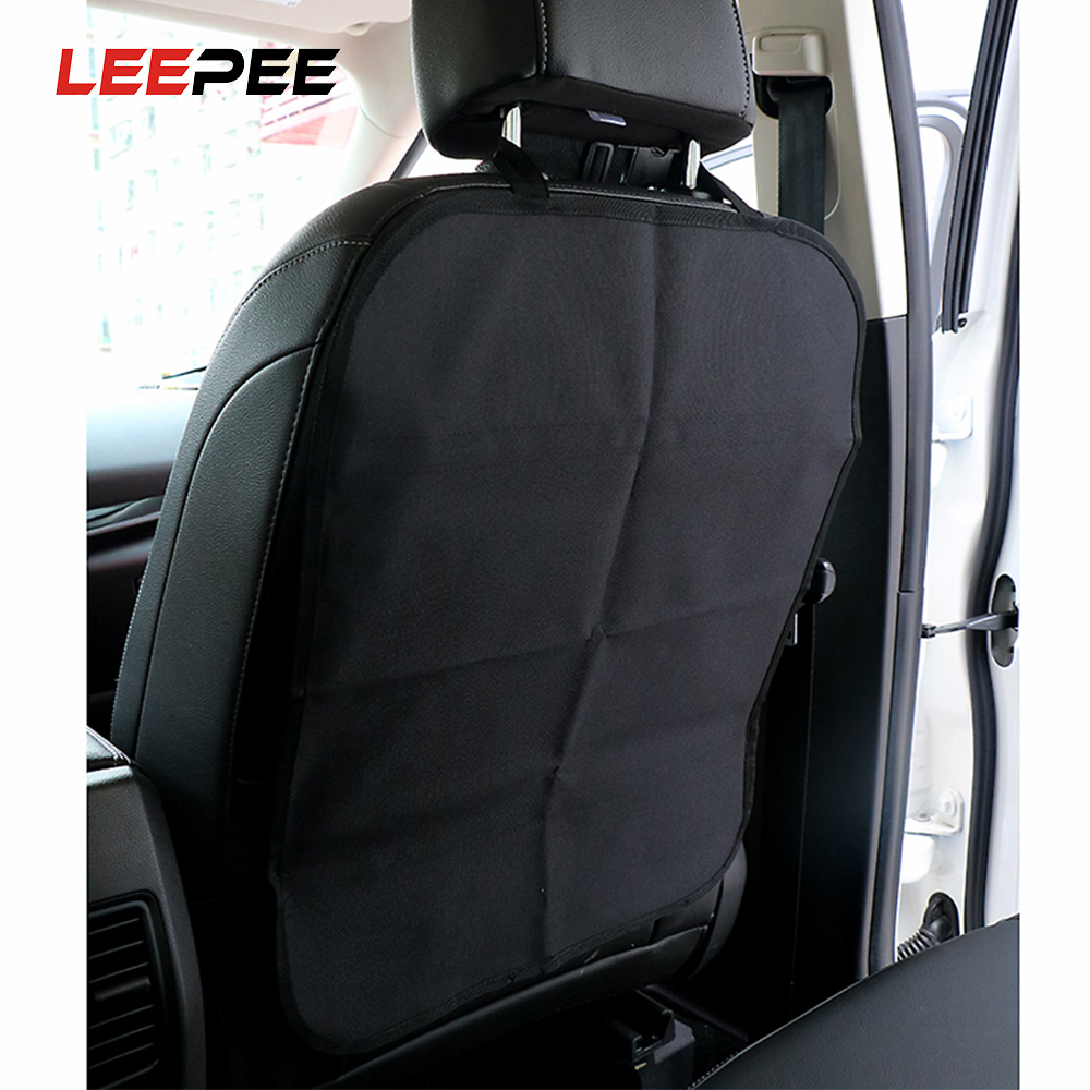 LEEPEE Car Seat Back Cover Protect from Mud Dirt Protection from Children Baby Kicking Auto Seats Covers Protectors Oxford Cloth