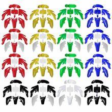 Полное тело пластиковое крыло для HONDA CRF XR 50 CRF50 125 SSR SDG 107 грязи ямы грязи велосипед Пластиковый мотоцикл Пластиковый обтекатель набор