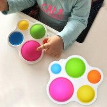 Baby Spielzeug Montessori Übung Bord Rassel Puzzle Spielzeug Bunte Kinder Zappeln Spielzeug Intelligenz Entwicklung Frühen Bildung Spielzeug