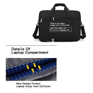 Image 5 - Coolbell New Big capacity 15 15.6 laptop man business shoulder bag Messenger bag for macbook PRO 15.4, 17 inch laptop briefcase