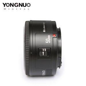 Image 5 - عدسة YONGNUO YN50mm F1.8 فتحة كبيرة تركيز تلقائي كاميرا عدسات لكاميرات كانون EOS 70D 5D2 5D3 600D 350D 450D DSLR SLR عدسات الكاميرا