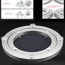 HQ AA01 Aluminium Alloy Lazy Susan Turntable Dining Table Rotating Swivel Plate 4-40INCH Diameter