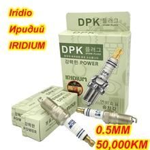 4 adet/grup kore DPK iridyum buji ITR200 için IT20 IT20TT IT16 VT20 VT16 41 104 AP 104 XP 605 HR7DC TR6IX ITR6F13 BPR6EFS