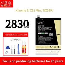 цена на Li3827T44P6h726040 battery for nubia Z11 mini nx529J  xiaoniu 5 High-capacity lithium-ion polymer replacement battery