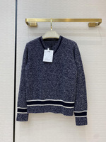 2020 Autumn Cashmere Sweater Shirt Top Women Fashion High end Design Long Sleeve V neck Warm Sweater Shirt Luxury Brand