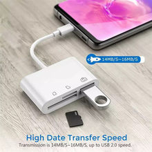 3 in1 Type C USB 2.0/SD/TF Geheugenkaartlezer OTG HUB Adapter Voor Macbook- pro USB Hubs 2019 Dropship(China)
