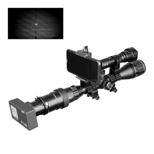 Visión Nocturna 960P vista al aire libre alcance día noche al aire libre caza cámaras WIFI linterna de conexión infrarroja Digital táctica